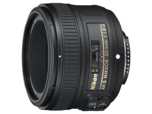 Photo of the Nikon 50mm f 1.8 G Lens