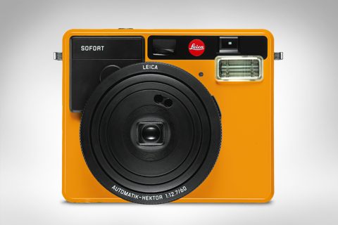 product image of the leica sofort orange