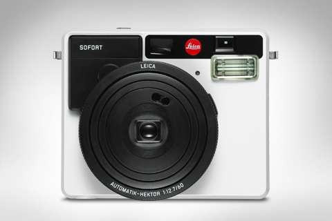 product of the leica sofort in white