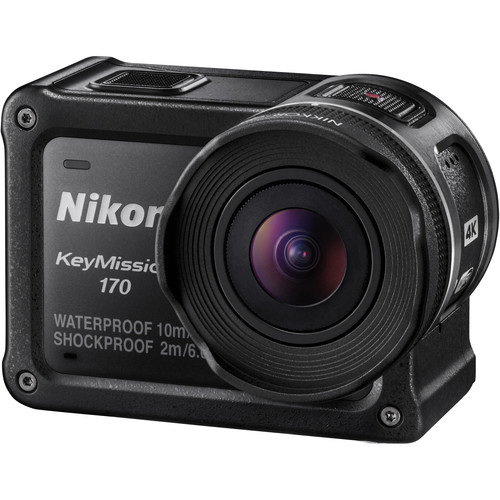 product image of the nikon keymission 170 action camera