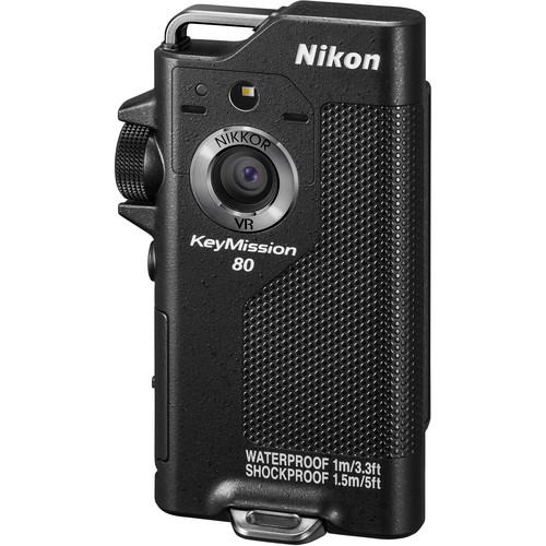 product image of the nikon keymission 80 action camera