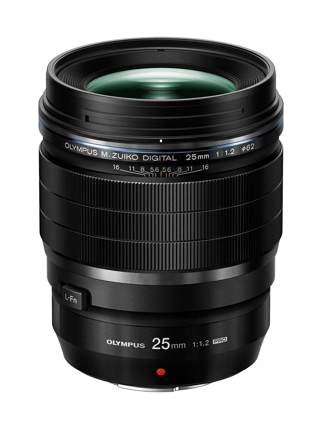 amazon product image of the front of the olympus 25mm f2