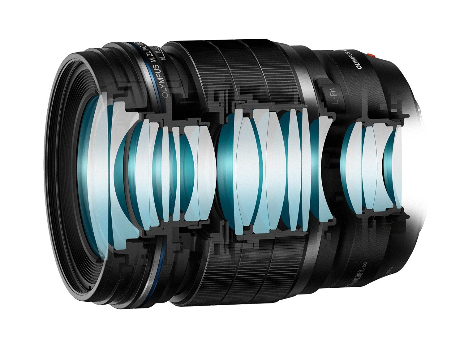 amazon product image of the internal structure of the olympus 25mm f2