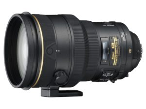 amazon product image of the NIKKOR 200mm f/2G ED Vibration Reduction II
