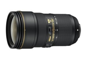 an amazon product image of the best nikon zoom lens for wedding photography, the nikon 24-70 f2.8g vr ii